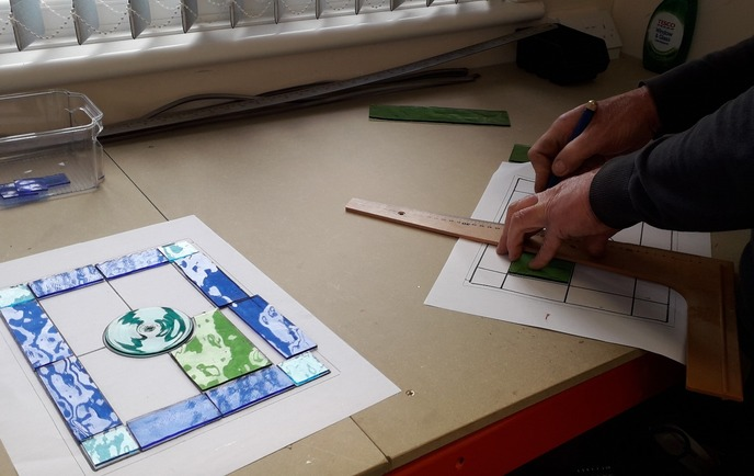 Beginners Stained Glass Courses Essex